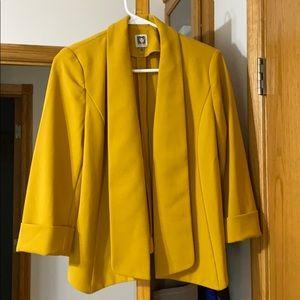 Mustard Jacket / Dress Blazer